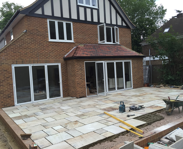 Building A Patio Uk