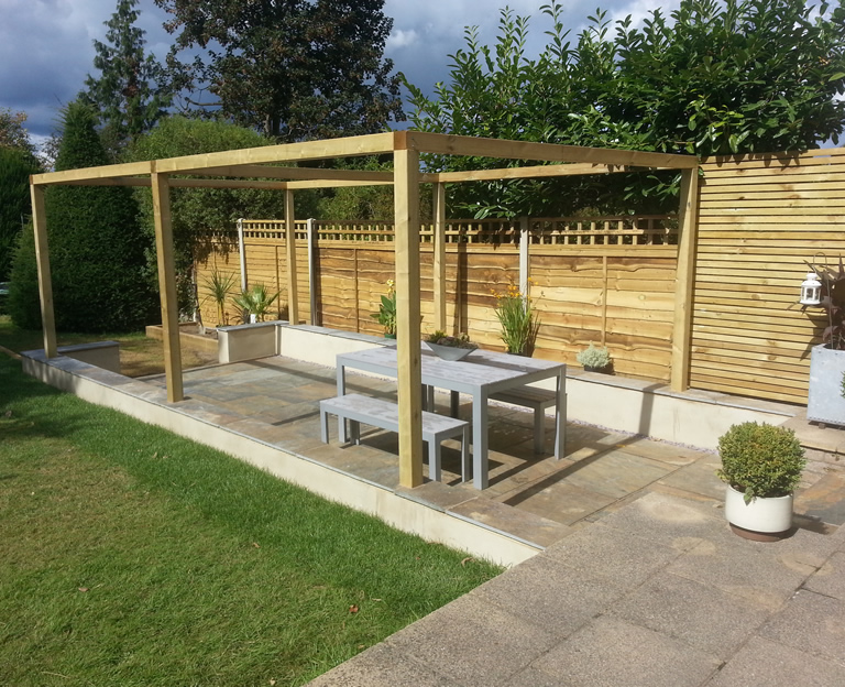 Sunken Seating Area, Leatherhead